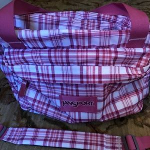 Jan sport Pink Duffle bag